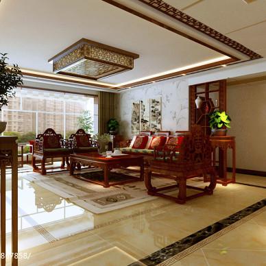 中式大户型样板房300例大全欣赏