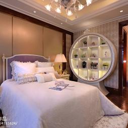 混搭风格家装卧室首饰柜样板间图片