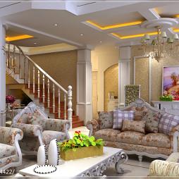 最新简欧客厅吊顶效果图欣赏