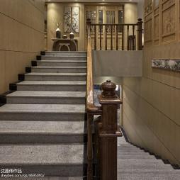 火锅店楼梯装修效果图