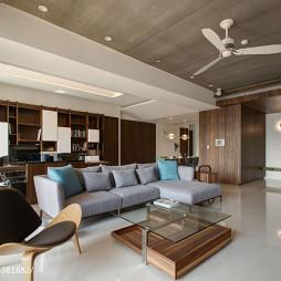 现代风格客厅茶几设计效果图