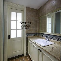 简约美式卫生间装修设计