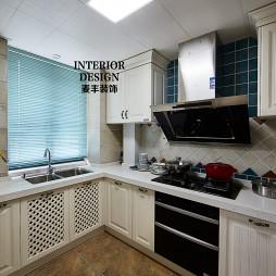 简约美式厨房吊顶装修设计