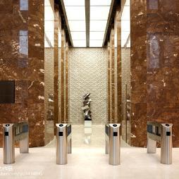 售楼处电梯间设计