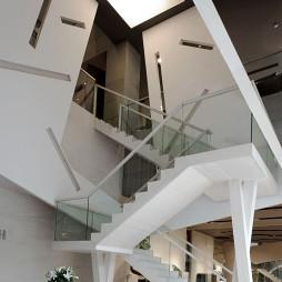 办公室楼梯装修设计效果图