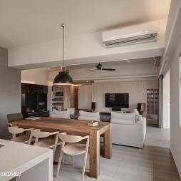 混搭风格公寓餐厅装修设计
