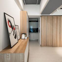 现代风格公寓过道装修设计