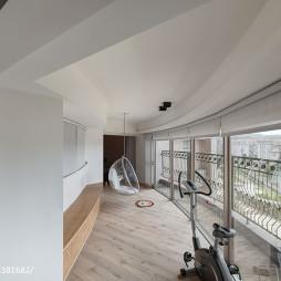 混搭风格公寓休闲区装修设计