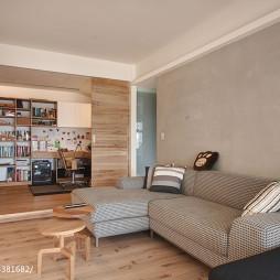 混搭风格公寓地台装修设计