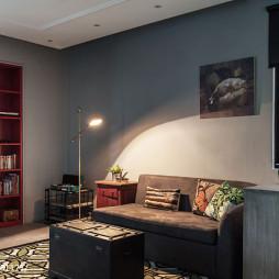 46坪老屋改造客厅效果图