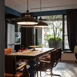 46坪混搭餐厅装修设计