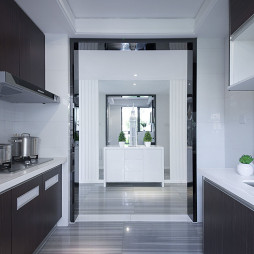 现代风格厨房过道设计