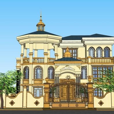 欧式建筑设计_2005833