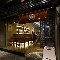 日式餐馆门头设计