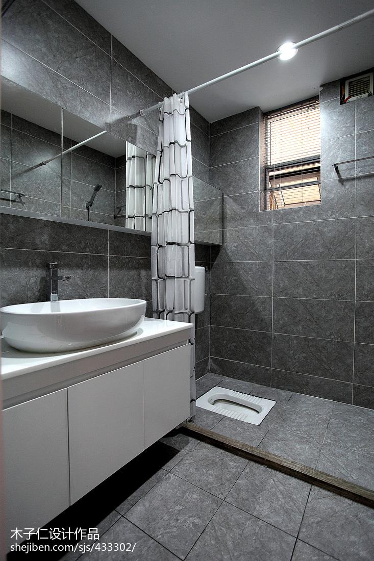 蹲式厕所装修效果图_卫生间垫高用什么材料好? -【设计本有问必答】