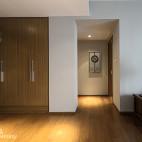 简约中式过道样板房设计