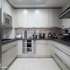 简约中式厨房样板房设计