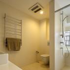 简约中式卫生间吊顶样板房设计