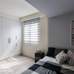 工业风卧室衣柜装修设计