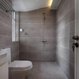 自然混搭风卫生间瓷砖装修设计