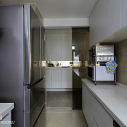 极简现代厨房家电样板房设计