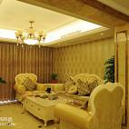 新古典风格客厅吊顶效果图