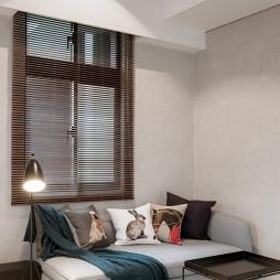 小户型现代客厅窗户效果图