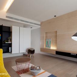 混搭风格客厅电视墙装修效果图大全欣赏
