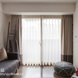 现代风格休闲区落地窗图片