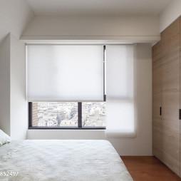 二居室混搭风格卧室卷帘装修效果图