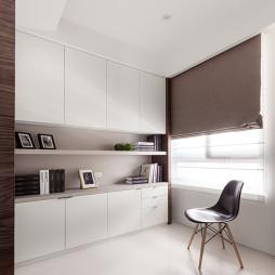 混搭风格书房组合柜效果图