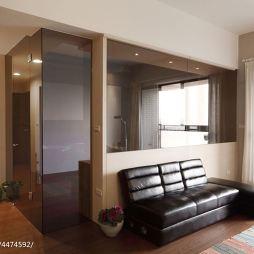 26平住宅客厅隔断设计