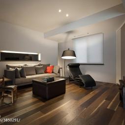 美式风格客厅木地板装修效果图