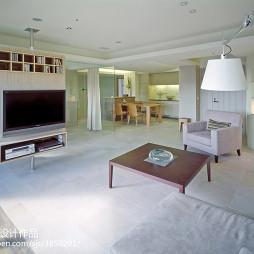 混搭风格客厅电视柜装修设计