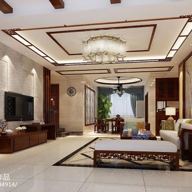 中式客厅影视墙图片汇总