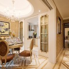 两室两厅装修样板间设计图片欣赏