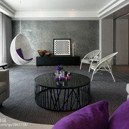 67坪坪住宅混搭客厅设计