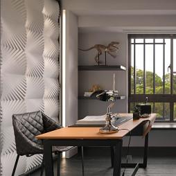 二居室现代厨房置物架装修设计