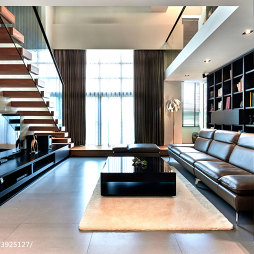 loft混搭客厅设计