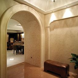 混搭风格过道拱形门设计