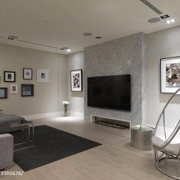 现代客厅电视墙装修效果图大全2017图片推荐