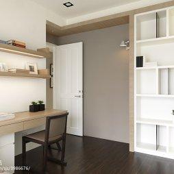 现代风卧室博古架图片