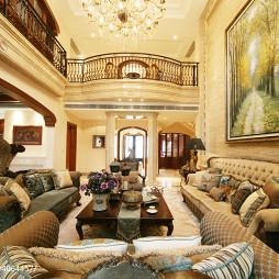 别墅混搭风格客厅设计