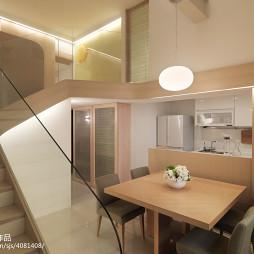 二居室现代餐厅装修