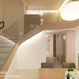 二居室现代楼梯装修