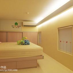 二居室现代卧室装修