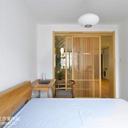 简单中式卧室图片