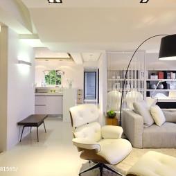 42坪住宅混搭客厅设计