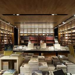 购书中心书柜装修