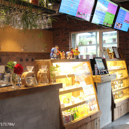 咖啡厅柜台设计